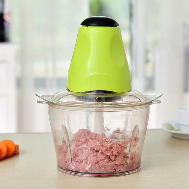 Home Small Vegetable Cutter 220v Multifunctional Meat Grinder Electric  Pepper Cutter Mini Kitchen Electrical Appliances 200w