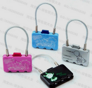 Fechadura Biometrica Real Fechadura Eletronica Hot 3 Code Gym Bags Lock Used In Cartoon Boxes Or School Cabinet Gifts b
