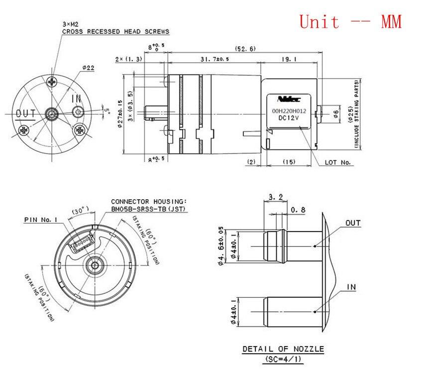 electric air pump diagram