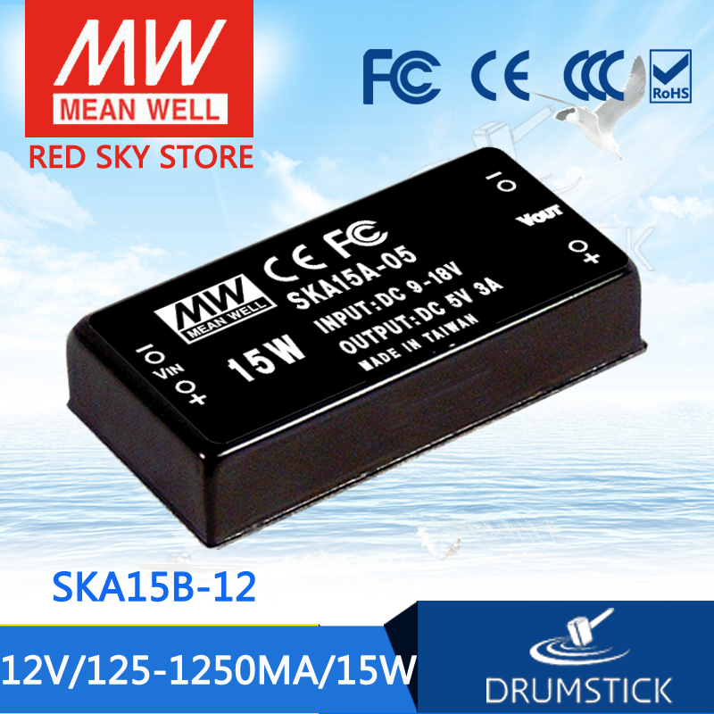 цена на Advantages MEAN WELL SKA15C-12 12V 1250mA meanwell SKA15 12V 15W DC-DC Regulated Single Output Converter