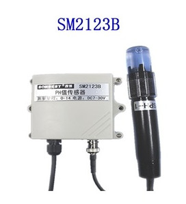 Livraison gratuite SM2123B RS485 sonde de verre de capteur de pH en ligne de qualité industrielle