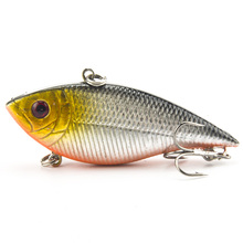 VIB Fishing Lure 7CM 10.5G Pesca Fishing Wobbler Crankbait Artificial Japan Hard Bait Tackle Swimbait 5 Colors Available