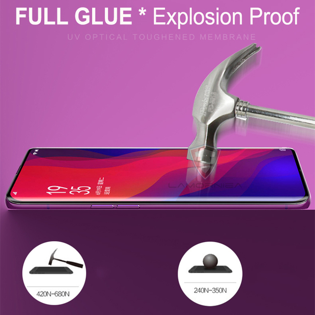 UV Tempered Glass For Samsung Note 9 8 S9 S8 S7 Edge 5D Full Liquid Glue Screen Protector For Samsung Galaxy Note 8 S8 S9 Plus 3