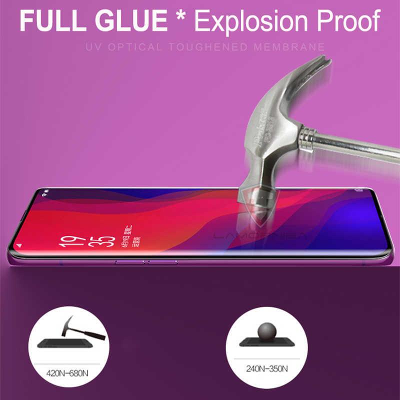 УФ закаленное Стекло для samsung Note 9 8 S9 S8 S7 край 5D полный жидкий клей Экран протектор для samsung Galaxy Note 8 S8 S9 плюс