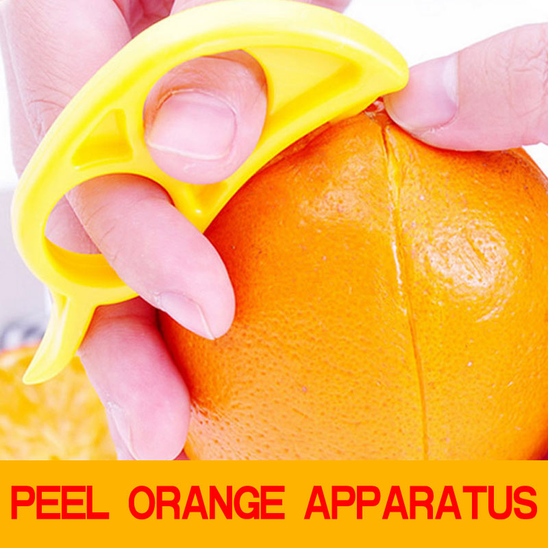 5pcs Open Orange Peel Orange Device Creative Kitchen Gadgets Cooking Tools Manda