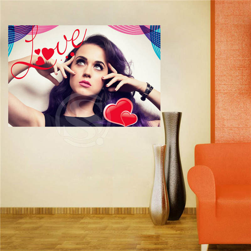 W620F58 Custom katy perry #1Canvas Painting Wall Silk Poster cloth ...