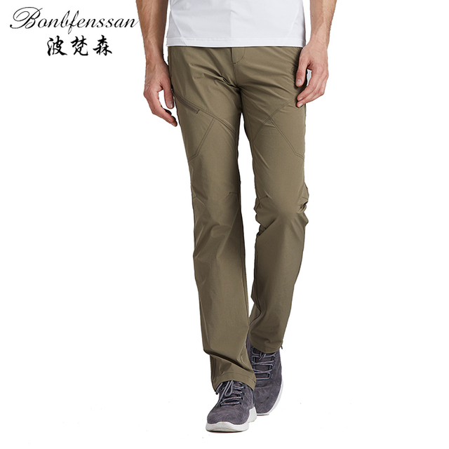07e9dcf31 US $29.92 |Bonbfenssan 2018 Men Hiking Pants Outdoor Quick drying pant  Trousers Waterproof Windproof spring autumn Thermal for Camping 3735-in  Hiking ...