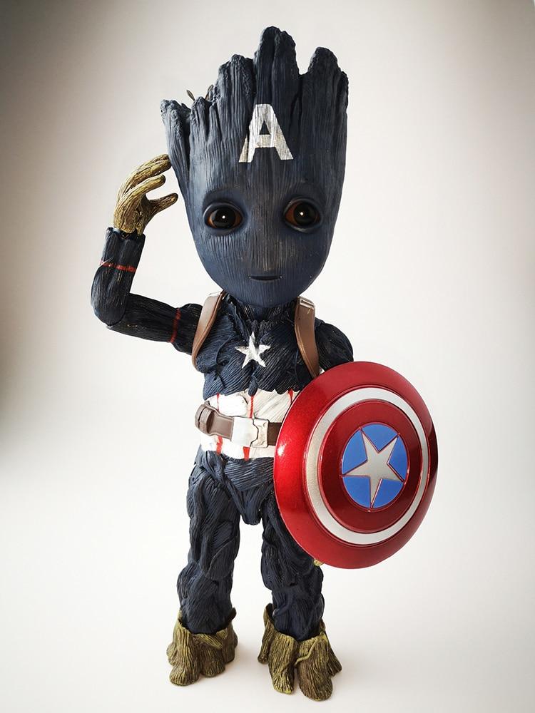 ... Groot bebé Keyring-Marvel Figura de Acción de guardianes de la Galaxia