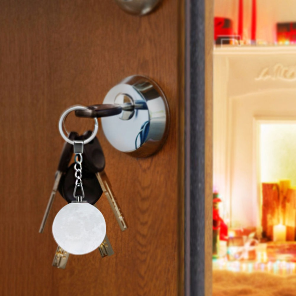 Toilet Door Novelty Keyring Bathroom