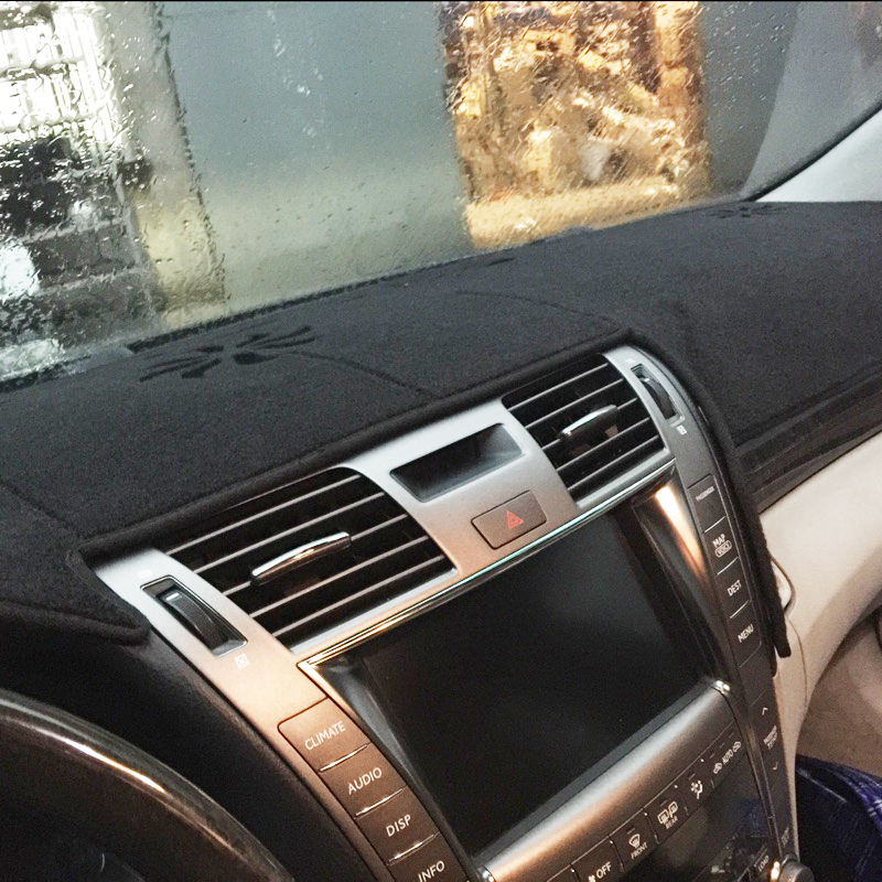 Dashmats Car Styling Accessories Dashboard Cover For Lexus LS460 LS600L LS600H 2006 2007 2008 2009 2010