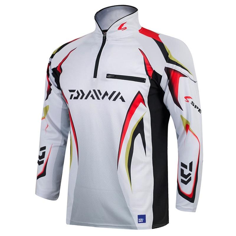 Suit DAYIWA Clothing Anti-UV Jacket Fishing Clothes Coat Quick Dry Fishing Shirt