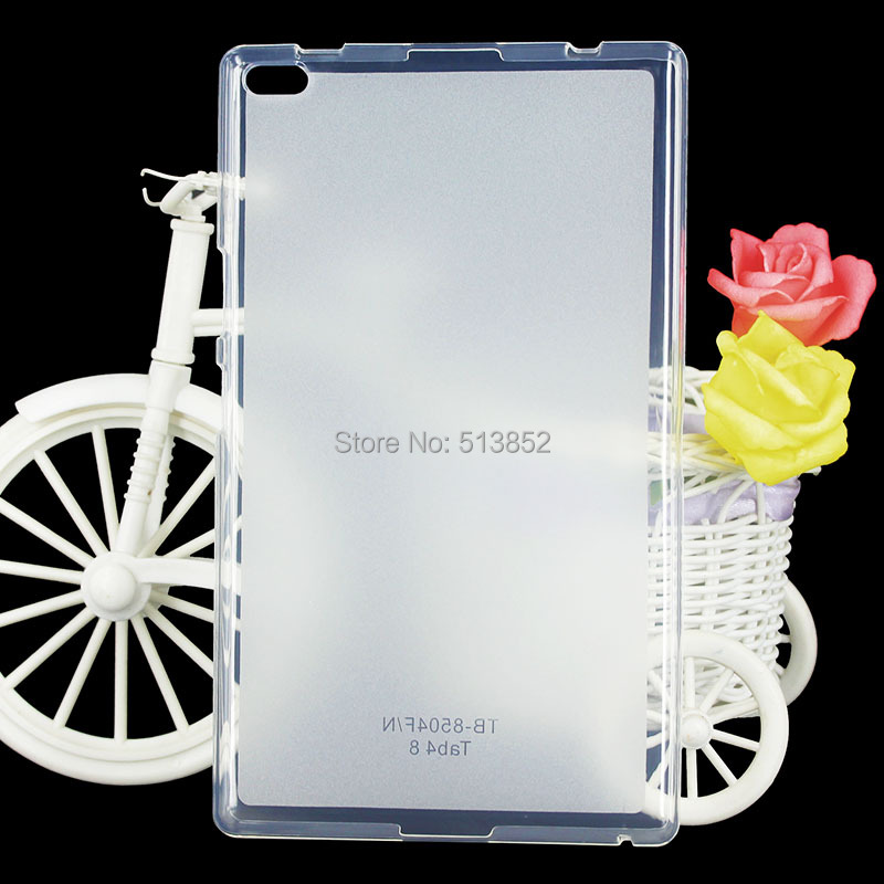KTG1141_1_High Quality Pudding Anti Skid Soft Silicone TPU Protection Case for Lenovo Tab 4 8 inch Tablet TB-8504F 8504N