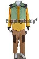 Желтый паладин ломоть Hallowen повседневная одежда анимации Косплэй костюм F006