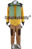 Yellow Paladin Hunk Hallowen Casual Outfit Animation Cosplay Costume F006