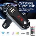Автомобильный многофункциональный беспроводной fm-передатчик  MP3 плеер  Handsfree Car Kit  USB TF SD Пульт дистанционного управления  винтажное радио H28
