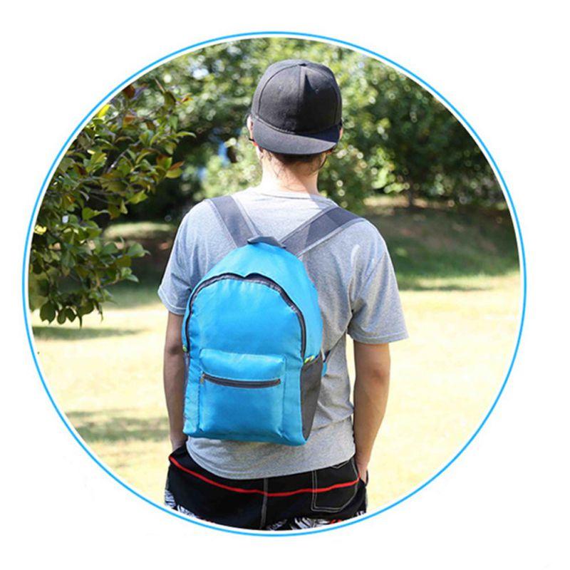 Waterproof Foldable Travel Backpack Bag Daypack Sports Hiking Travel Storage Bag Organizer