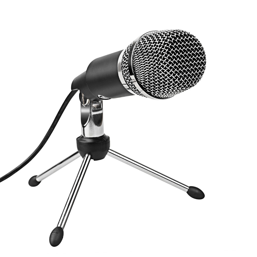 FIFINE 3.5mm Plug Microphone for Radio Online Course Meeting Chat suit for computer PC High Sensitivity Clear Recording K667 1