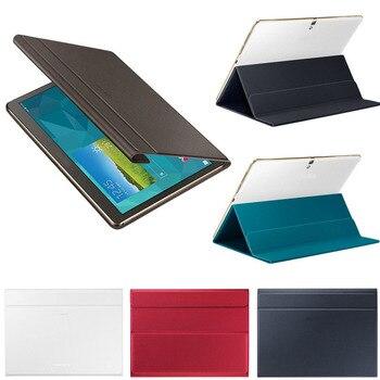 Akcesoria do tabletów Ultra Slim okładka książki stojak na Samsung Galaxy Tab S 10.5 Cal SM-T800/T805 wysokiej jakości Z515