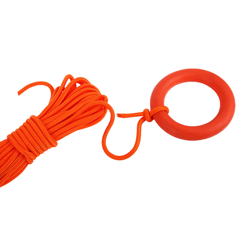 Lifesaving Rope-30m Floating Lifesaving Rope for Outdoor Emergency Aid Survival Rescue