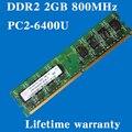 Настольных памяти пожизненная гарантия для Hynix DDR2 2 ГБ 4 ГБ 800 мГц PC2-6400U 800 2 г оперативной памяти компьютера 240PIN оригинальной аутентичной