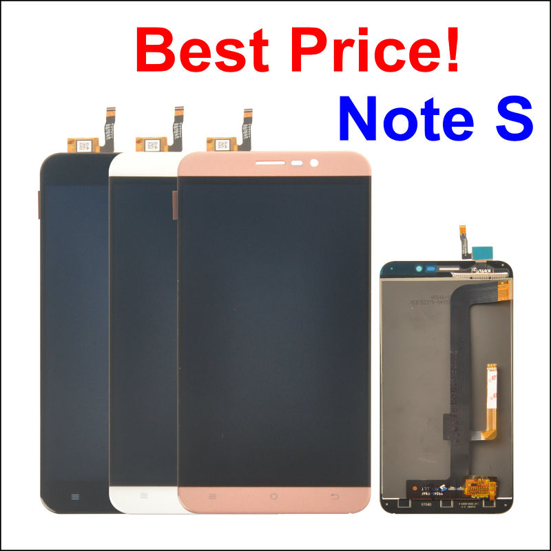 LCD Display +Digitizer Touch Screen Assembly For CUBOT Note S Cellphone 5.5 Black / White/Gold color In Stock!