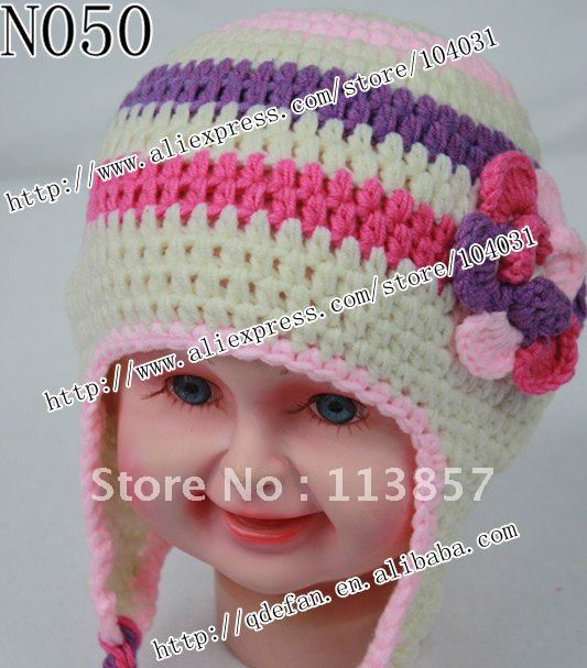 New Free Shipping 10lot 100 Cotton Animal Hat Knitting