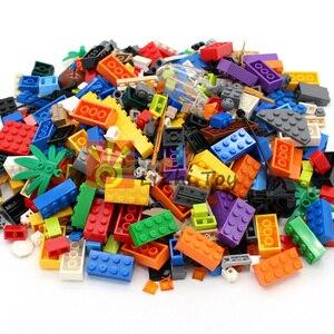 Image 2 - Набор строительных блоков для взвешивания еды DIY, креативные объемные кирпичи, игрушки для детей, развивающие кирпичи, рождественский подарок для детей, случайный выбор 500 г