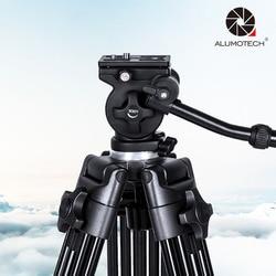 ALUMOTECH Professional Heavy Duty 1.8M Tripod Weifeng717 Video Camcorder DSLR Cam Studio