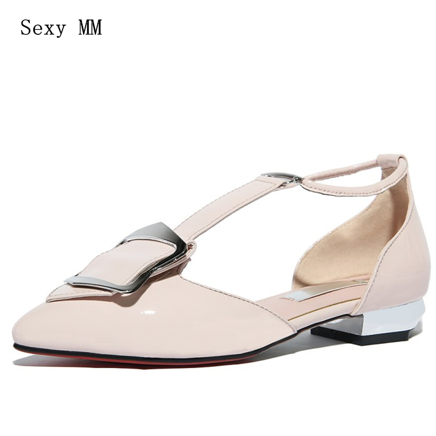 Genuine Leather Low Heel Office Shoes Women Loafers Oxfords Slip On Shoes Woman High Quality Plus Size 34 - 40 41 42 slip on men casual shoes male sandal new fashion genuine leather low heel high quality brand korean style thick bottom plus size