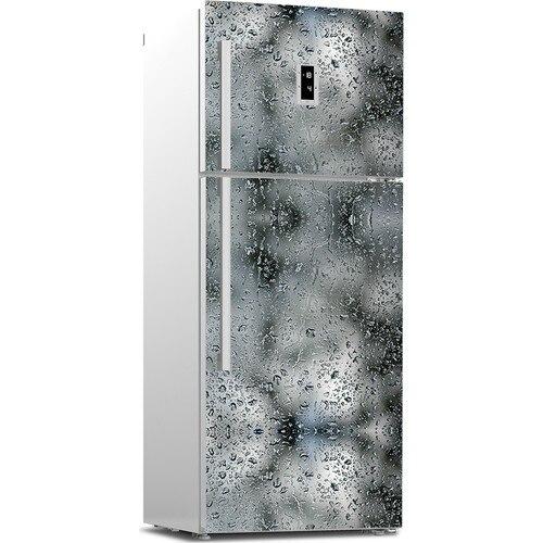 3D Fridge Sticker Waterdrop On Glass Refrigerator Dishwasher Door Cover Kitchen Home Decoration Accessories Wall Stickers