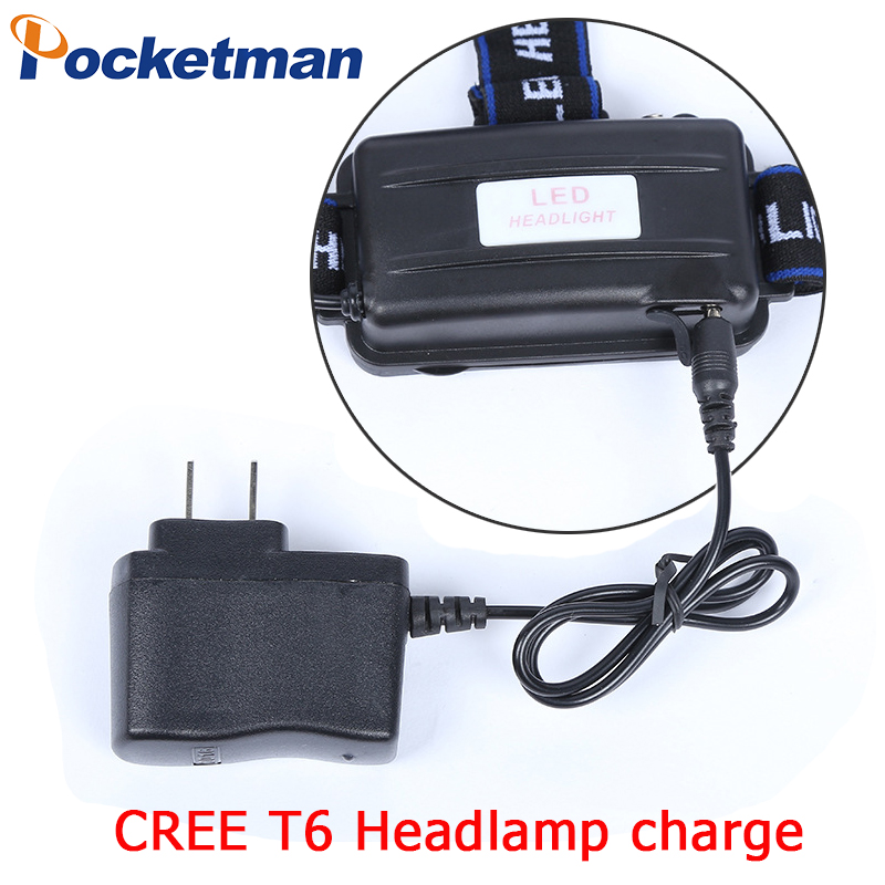 T6 Headlamp Charge Head Light  Light  18650 Battery Charge
