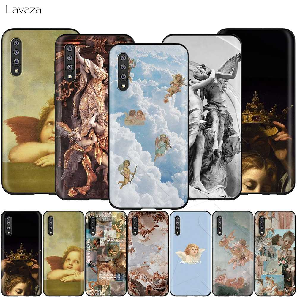 Lavazaルネッサンス天使サムスンギャラクシーS6 S7 エッジJ6 S8 S9 S10 プラスA3 A5 A6 A7 A8 a9 注 8 9