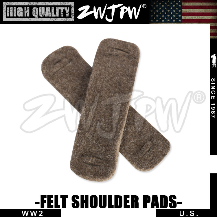 WW2 US AIRBORNE SHOULDER PADS FOR SUSPENDERS HIGH QUALITY