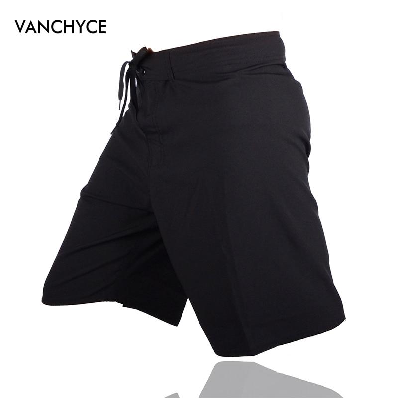 VANCHYCE Summer   Shorts   Men Swimwear Men Beach   Shorts   Men Bermuda   Short   Quick Dry Silver Mens Boardshorts   Board     Shorts   Brand