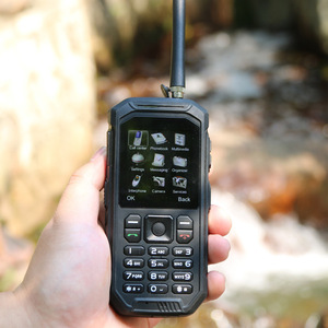 Image 5 - Russian Keyboard JEASUNG X6 UHF Walkie Talkie IP68 Rugged Mobile Phone waterproof 2500mah 2.4 Inch Dual SIM GSM card