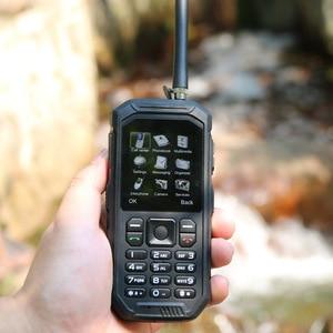 Image 5 - Teclado ruso JEASUNG X6 UHF Walkie Talkie IP68 robusto teléfono móvil impermeable 2500mah 2,4 pulgadas tarjeta Dual SIM GSM
