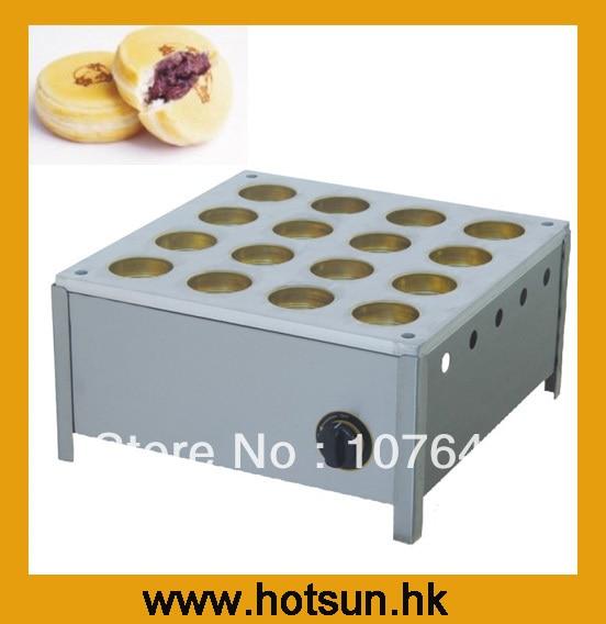 Hot Sale 16pcs Gas Dorayaki Machine hot sale 16pcs gas bean cake machine