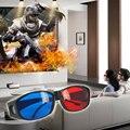 New Red Blue 3D Glasses Anaglyph Framed 3D Vision Glasses for Game Stereo Movie Dimensional Anaglyph Glasses Plastic glasses