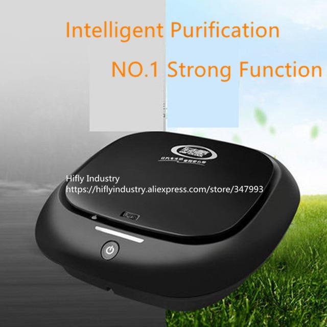 Mini Car Air Purifier HEPA Ionizer 12V cigarette lighter use Fresher