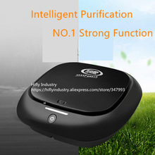 Mini Car Air Purifier HEPA Ionizer 12V cigarette lighter use Fresher