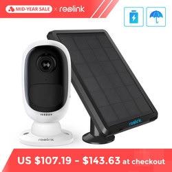 Reolink Argus 2 und Solar panel Kontinuierliche Akku 1080 P Volle HD Outdoor Indoor Sicherheit WiFi Kamera 130 Breite ansicht