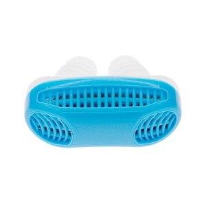 Image 3 - Sleeping Anti Schnarchen Nase Clip Silicone Magnetic Anti Snoring Nose Clips Breathing Stop Snore Apnea Antisnoring Clip Device
