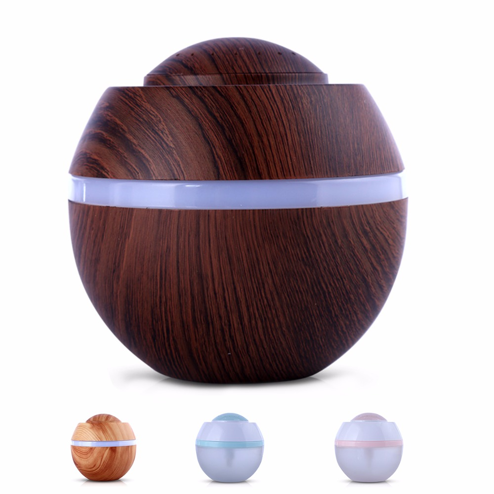 USB Ultrasonic Air Purifier Humidifier Essential Oil Aroma Diffuser Cool Mist Humidifier Home Maker LED Car Office Home cute mini usb clovers ultrasonic air humidifier led light essential oil aroma diffuser home office mist maker air purifier