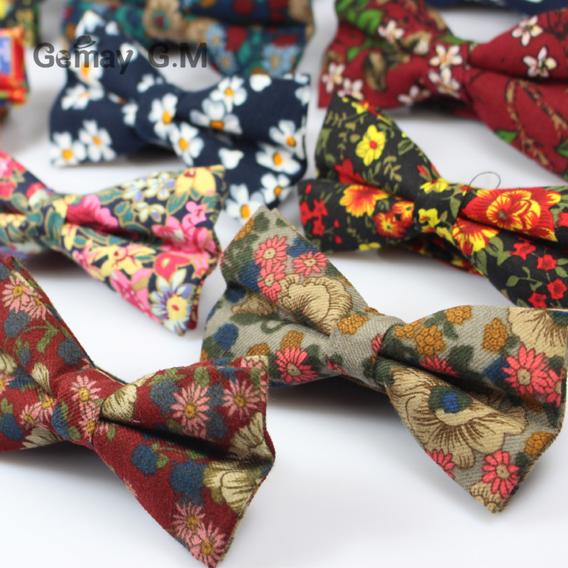 Këpucë pambuku zyrtare të rregullueshme, kravatë Vintage me lule - Aksesorë veshjesh - Foto 2