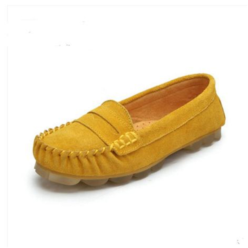 2017 new women casual shoes spring summer leather flats breathable women moccasins female loafers plus size driving shoes flat shoes women pu leather women s loafers 2016 spring summer new ladies shoes flats womens mocassin plus size jan6