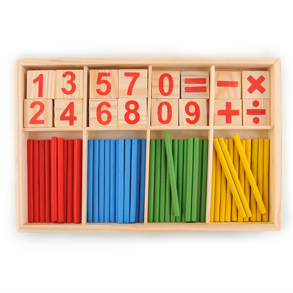 Montessori interests toy size 16 23 3 3 cm wooden digital learning boxes wooden toys gifts