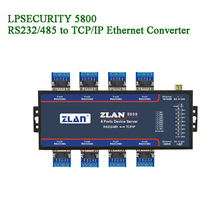 8 Port Serial to Ethernet converter devices server/RS232/RS4