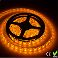 5m/roll Free shippingSMD 5050  LED softstrip  Hot sale LED strip  24V DC  Yellow color IP65 Waterproof LED ribbon