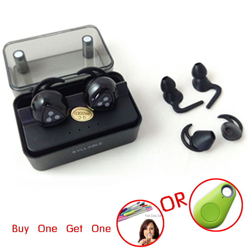 New Arrival Syllable D900 Mini Headphone Bluetooth 4.1 Stereo Wireless in Ear Earphone Bluetooth Headset Mini Earbud with mic new guitar shape r9030 bluetooth stereo earphone in ear long standby headset headphone with microphone earbuds for smartphones