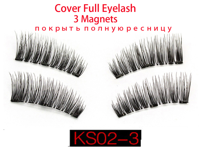 Magnetic Eyelashes Single Magnetic With 3 Different Model Reusable